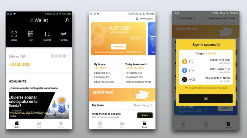 Pundi X introduced new version of XWallet, a mobile app that eases digital payment and enables small individual merchants to accept payment in digital assets on the Android phone.