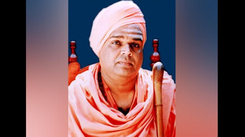 A native of Korawad village in Vijayapura district, Siddalinga Swamiji was known as 'Kannadada Jagadguru' (Seer of Kannada). (Photo: ANI)