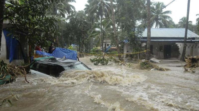 Cloudburst and flashfloods have left many people stranded. (Photo: Representational image)