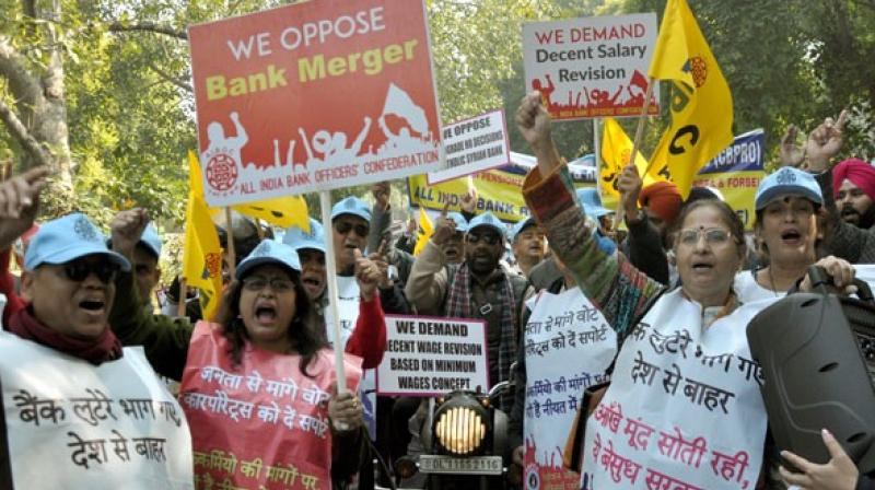 The unions informed the Indian Banks' Association of the proposed strike via a notice.  (Photo: ANI)