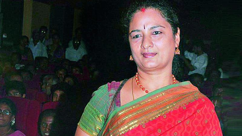ACTRESS RAMAPRABHA SENSATIONAL COMMENTS ON SAVITHRI!