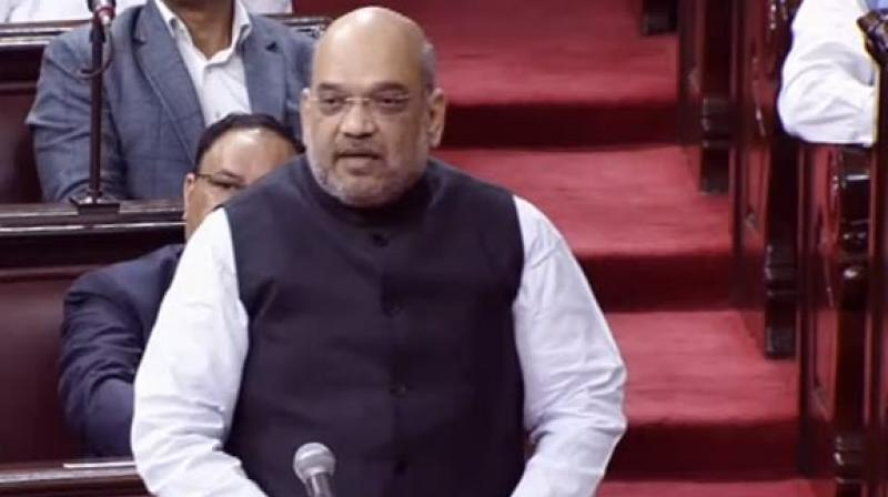 Amit Shah Debut Speech In Rajya Sabha On Monday