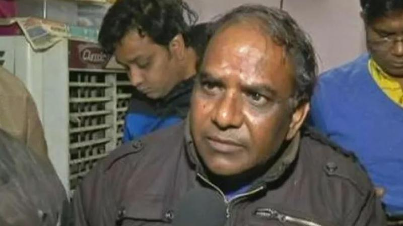 Ankit's father Yashpal Saxena said, 'I had a tiny hope that maybe he (Ankit) is alive and just unconscious, maybe by some miracles doctors can save him. But nothing like that.' (Photo: ANI)