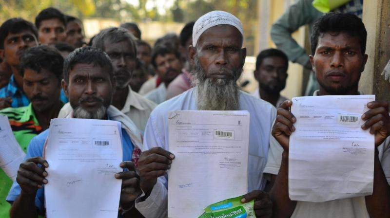 When asked if Bangladesh will be willing to take back the illegal citizens staying in India, Inu said, 'As of now, India has not shared NRC findings with us and has not raised the issue. Until they do so, we will not speak.' (Photo: PTI)