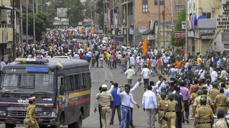 Parts of Maharashtra, especially Koparkhairane and Kalamboli in Navi Mumbai, had witnessed violence during the Maratha quota stir late last month. (Photo: File)