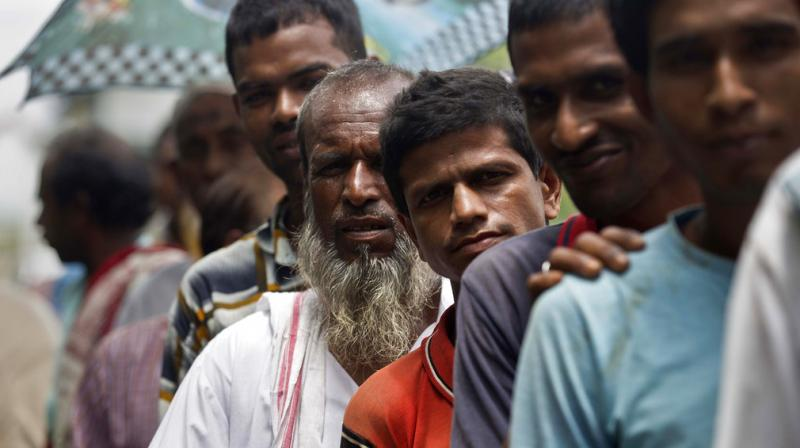 A final draft of a list of citizens in Assam was released on Monday, leaving some 4 million people on edge to prove their Indian nationality. (Photo: AP)
