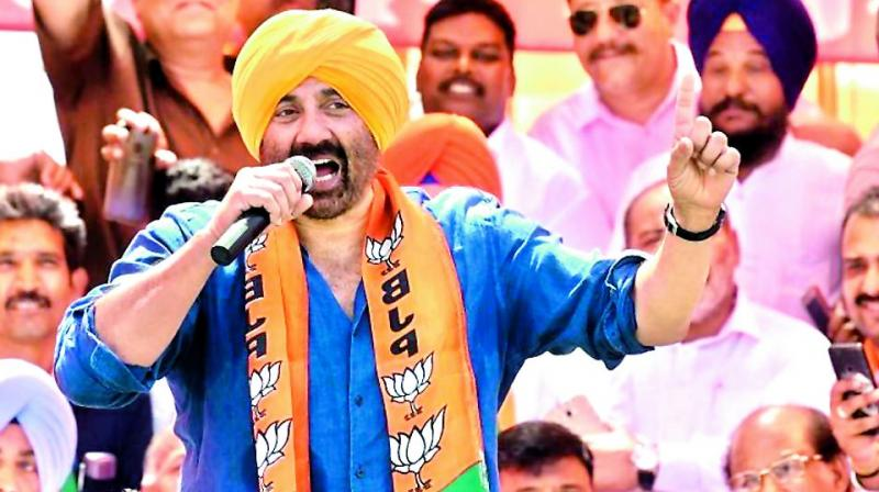 The poll expenditure of Gurdaspur lawmaker and actor Sunny Deol has been found exceeding the statutory limit of Rs 70 lakh, an election official said on Saturday. (Photo: File)