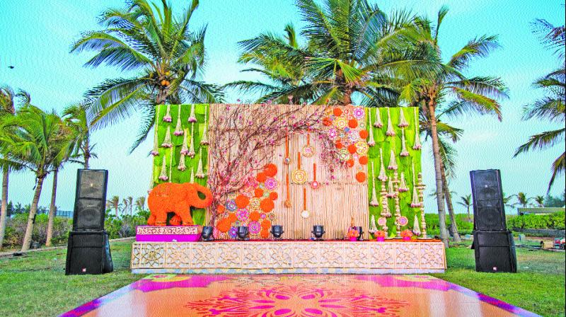 Many properties have in-house event planning for the ease of the clients bringing them all wedding related service under one roof.
