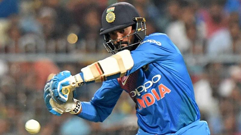 Karthik has scored 1738 runs in his ODI career with an average of 31.04 and has played 91 matches for India. (Photo: PTI)