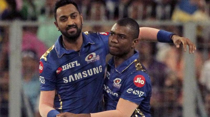 Currently, Mumbai Indians, are placed third with 14 points from 12 games and they take on Sunrises Hyderabad on Thursday at the Wankhede Stadium here. (Photo: AP)