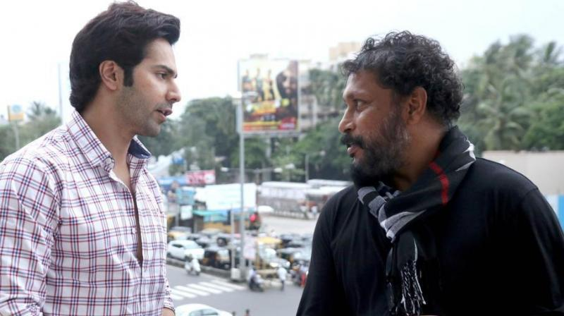 Varun Dhawan and Shoojit Sircar.