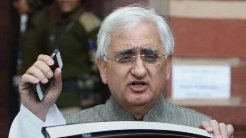 Senior Congress leader Salman Khurshid. (Photo: PTI)