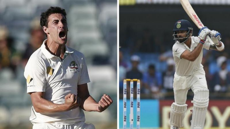 Virat Kohli is 'fantastic' to play under: Mitchell Starc
