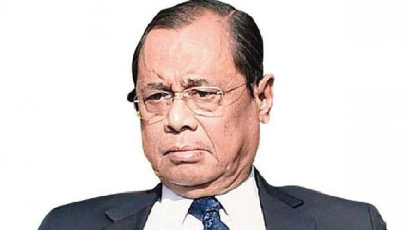 Justice Gogoi will demit office as the Chief Justice of India on Sunday. An apex court official said Justice Gogoi would visit Raj Ghat to pay homage to Mahatma Gandhi. (Photo: File)