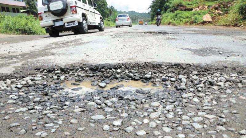 The state government has made it abundantly and emphatically clear that it has will not funds for road repairs.