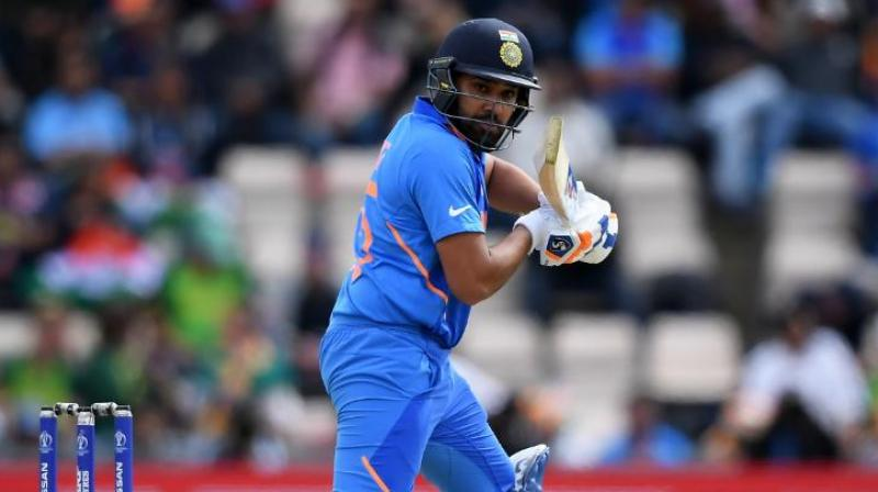 Sharma said that what has happened in the past does not matter in a stage like the World Cup. (Photo: ICC World Cup/Twitter)