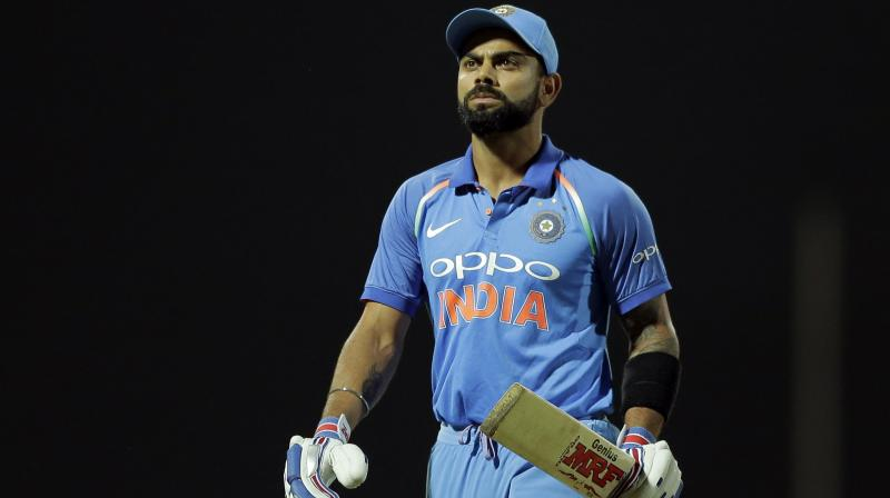 Kohli gave credit to unheralded mystery spinner Akila Dananjaya, who took six for 54 from his 10 overs to wreck havoc of the Indian innings. (Photo:AP)