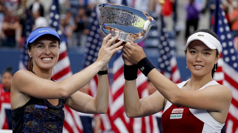 Hingis has 13 major doubles titles, along with five in singles and seven in mixed doubles. (Photo:AP)