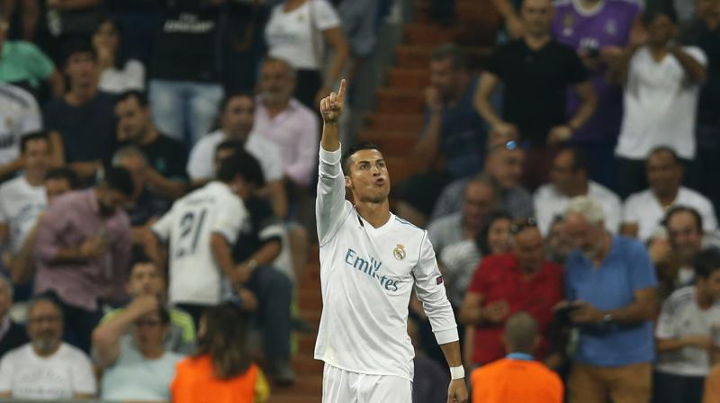 Ronaldo has now struck 12 times in his last six Champions League games. (Photo:AP)