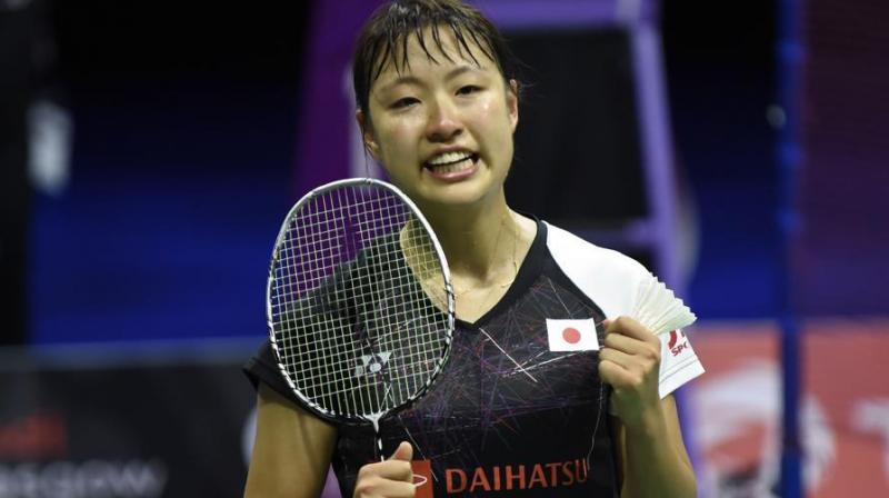 Nozomi Okuhara produced a stunning display of badminton to knock out India's PV Sindhu 21-18, 21-8. (Photo:AFP)
