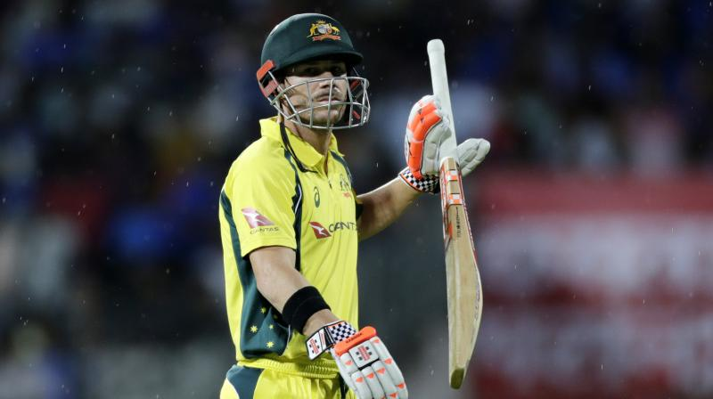 Warner said listless batting at the top makes it difficult to take the spinners head on. (Photo: AP)