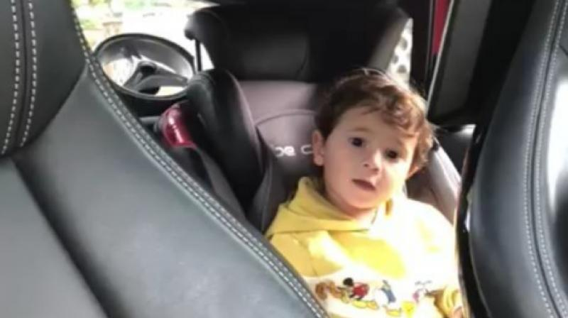 Lionel Messi  posted a video on social media of his child singing in Catalan. (Photo: Instagram screengran )