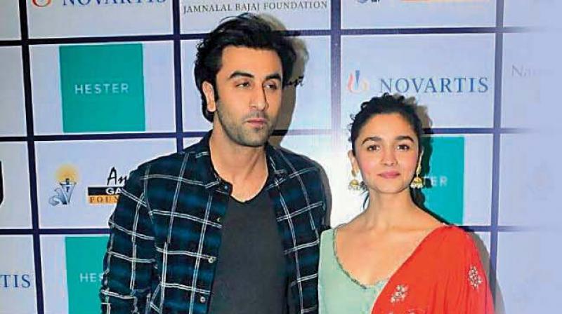 Ranbir Kapoor and Alia Bhatt's