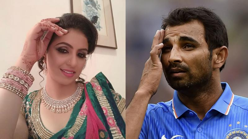 Hasin Jahan also claimed that her cricketer husband Mohammed Shami's mother and brother tortured her and tried to kill her. She later alleged that Shami wanted her to have physical relations with his brother. (Photo: Facebook / AP)