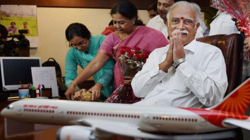 Civil Aviation Minister Ashok Gajapathi Raju