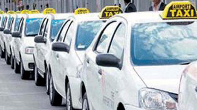 It is estimated that nearly 25,000 vehicles in Telangana state are being hired by various departments, and nearly 161 vehicles across the state belong to/are being hired by the transport department alone.  (Representational image)