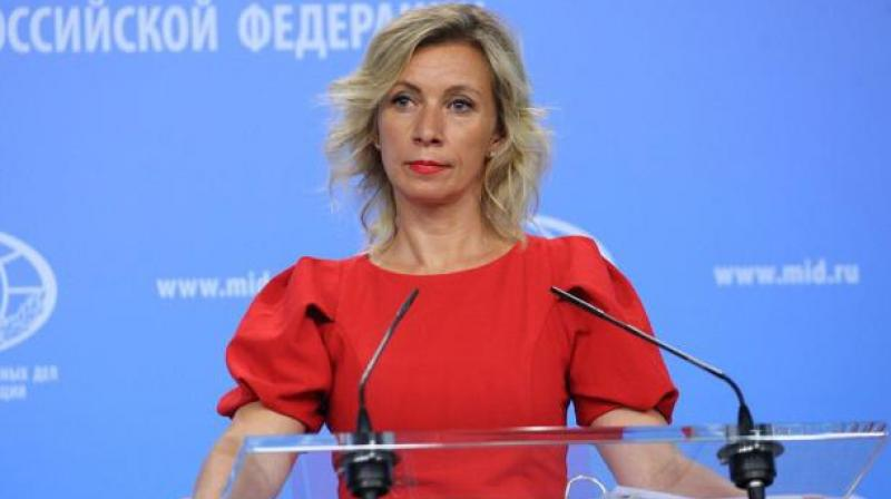 Russian Foreign Ministry spokesperson, Maria Zakharova (Photo: Russian Foreign Ministry)