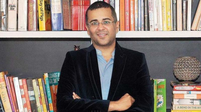 Chetan Bhagat, whose latest novel, The Girl in Room 105: An Unlove story, hit stands earlier this month, just before the #MeToo campaign erupted across the internet, proved a ripe target for sensational headlines.