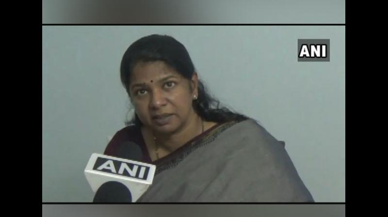 'As the newly purchased buses were manufactured in other states, they had Hindi stickers. However, we removed that before the buses are used by the public,' Tamil Nadu transport department said in a press note. (Photo: ANI)