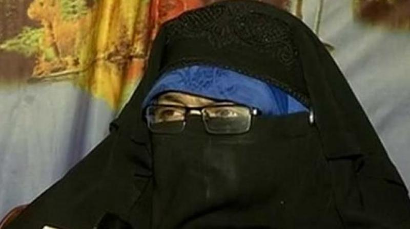 Andrabi was in a prison in Srinagar after the Jammu and Kashmir High Court cancelled her bail last month. (Photo: ANI   Twitter)