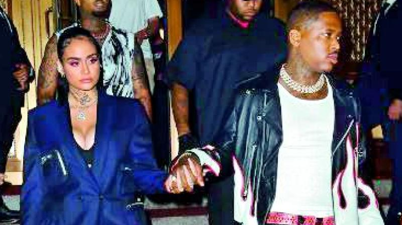 YG and Kehlani Step Out Publicly As Couple for The First Time