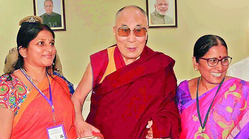 Peace will ensure faster economic growth: Dalai Lama
