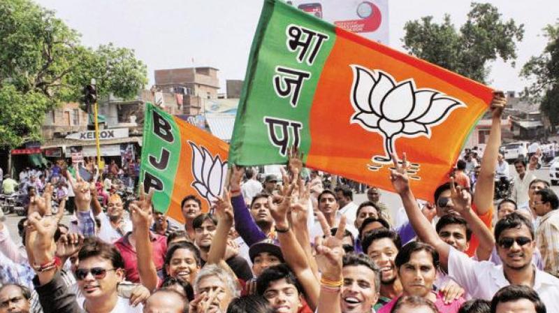 Under Modi and Shah, the BJP has ousted the Congress from power in Maharashtra, Haryana, Jharkhand, Assam, Uttarakhand, Goa, Arunachal Pradesh and Manipur. (Photo: PTI)