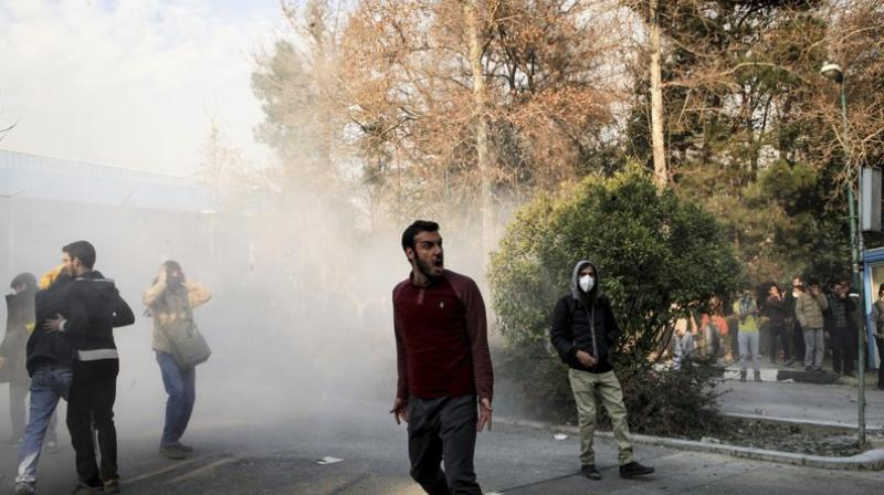 Sunday night was the deadliest since the angry demonstrations broke out on Thursday and spread across the country in the biggest test for the regime since mass protests in 2009. (Photo: AP)