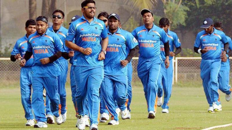 A dominant India beat Bangladesh by seven wickets to set up a title clash with arch-rivals Pakistan in the Blind Cricket World Cup. (Photo: PTI)