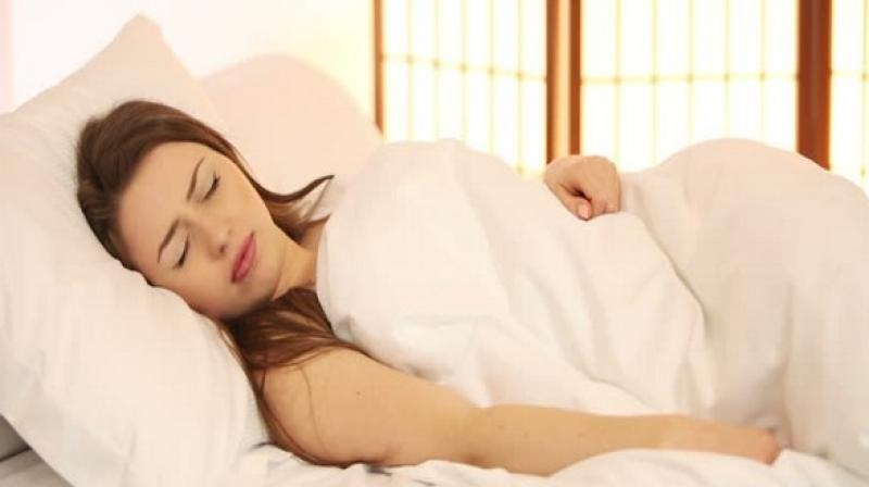 The new research suggests that people who experience more closures of the airways during sleep and whose blood oxygen saturation levels drop below 90 per cent more frequently. (Photo: ANI)