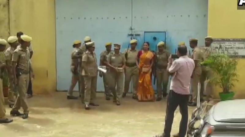 She has been in prison for more than 27 years. (Photo: ANI)