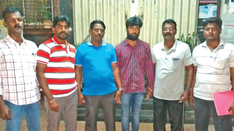 Chennai: Dhashwanth escapes en route to airport