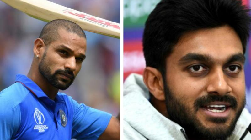 Dhawan checked in at NCA for rehabilitation, while Shankar is set to get his injured toe assessed. (Photo: AFP)