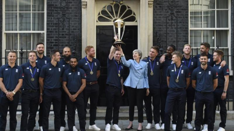 England scripted history on Sunday as it claimed its first-ever World Cup title. (Photo: England Cricket/Twitter)