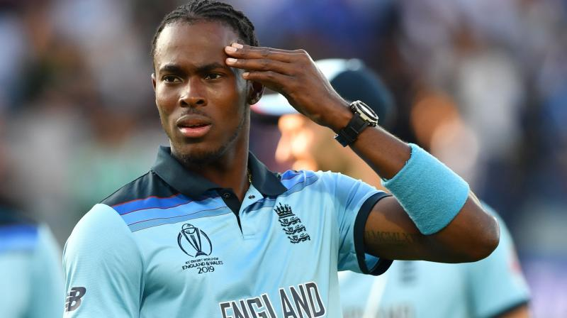 Archer qualified for a British passport thanks to his father and only became eligible to play for England in March. (Photo: AFP)