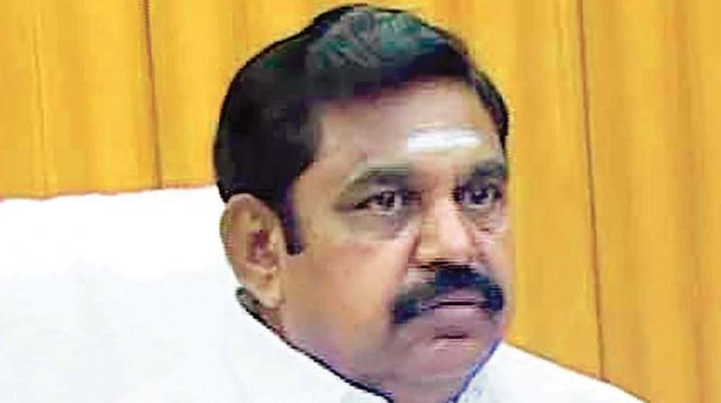 Chief Minister and AIADMK co-coordinator, Edappadi K Palaniswami