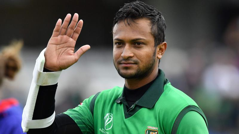 ICC CWC'19: Shakib Al Hasan becomes highest run-scorer