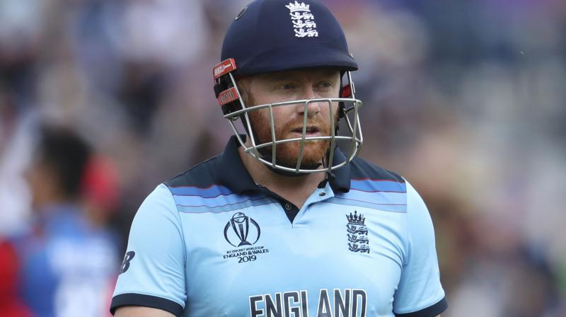 Rank-outsiders Afghanistan, yet to win a game at this tournament, helped England with some woeful outfielding that saw needless runs conceded. (Photo: AP)