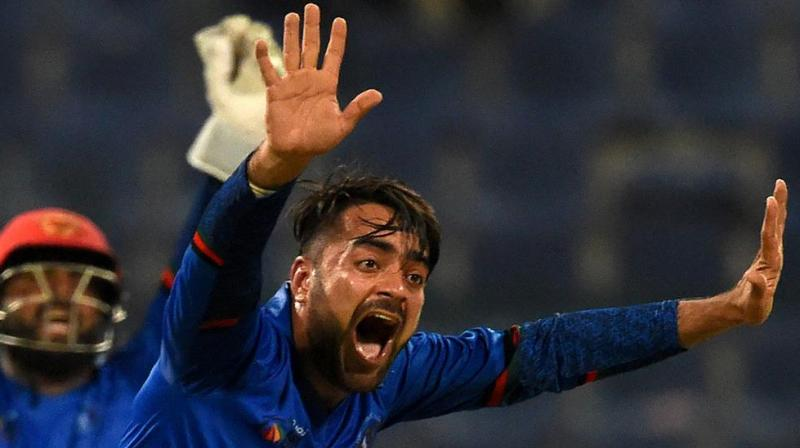 Last year, Rashid Khan became the youngest bowler to clinch the top spot in ICC ODI bowlers rankings. (Photo: AFP)