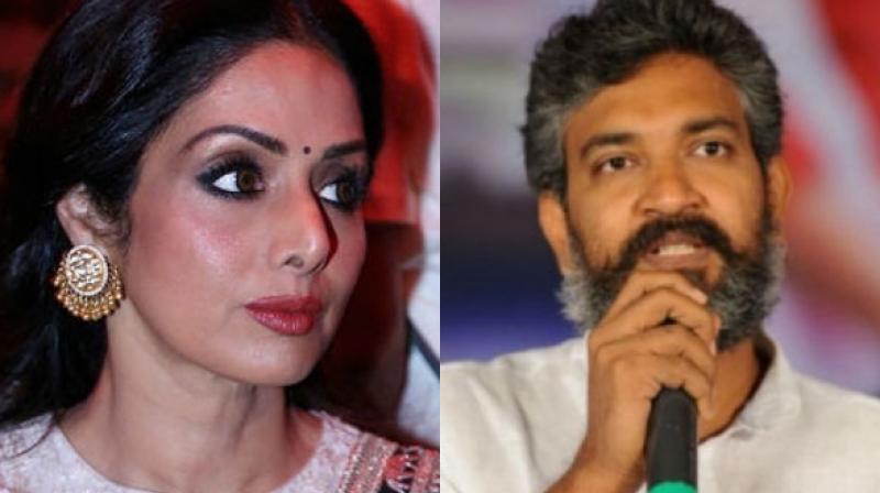 Sridevi didn't work in Rajamouli's 'Baahubali' franchise but worked in Tamil film 'Puli.'